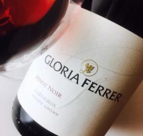 Afbeeldingsresultaat voor gloria ferrer los carneros label